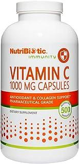 Nutribiotic Vitamin C Capsule, 1000 Mg, 500 Capsules