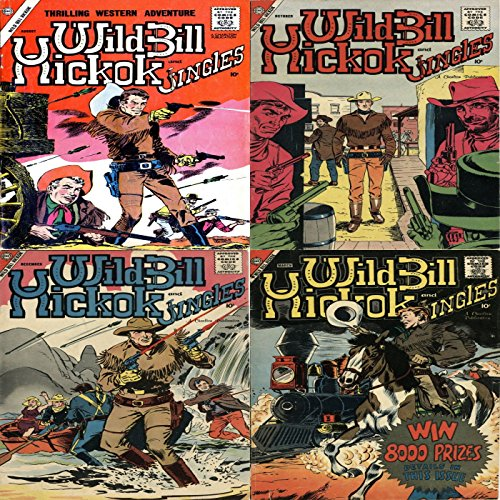 Wild Bill Hickok and Jingles. Issues 68, 69, 70 and 71. Thrilling Western Adventure. Digital Sky Comic Compilations Wild West Western (English Edition)