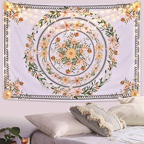 bjyxszd decoración de Dormitorio Alfombrilla para Yoga Toalla para playaTapiz de Girasol, Tela de Pared de Fondo de Tela de Pared de impresión Digital 3D, Tela de Pared de Dormitorio-1_El 150x170cm