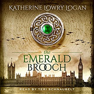 The Emerald Brooch audiobook cover art