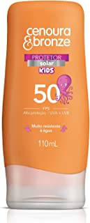 Protetor Solar Kids Fps50, Cenoura e Bronze