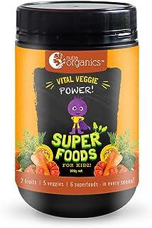 Nutra Organics Vital Veggie Power Super Powder Foods for Kidz 300 g, 300 grams