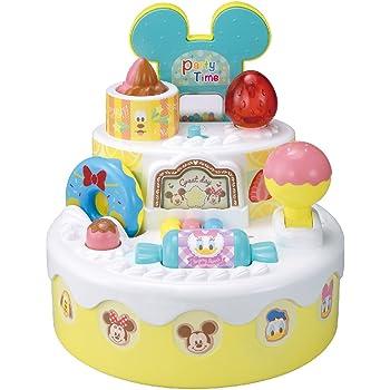 ディズニー はじめて英語 おしゃべりいっぱい!パーティーケーキ ミッキー&フレンズ