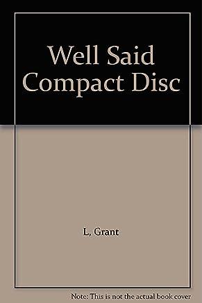 Well Said Compact Disc
