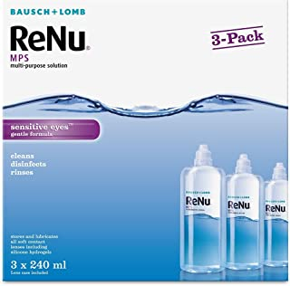 Bausch + Lomb ReNu MPS Multi- Purpose Solution, 240ml, Pack