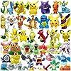 Funmo - 48 pièces Pokémon Mini Figures Action Figurines, Enfants et Adultes Party Celebration #3