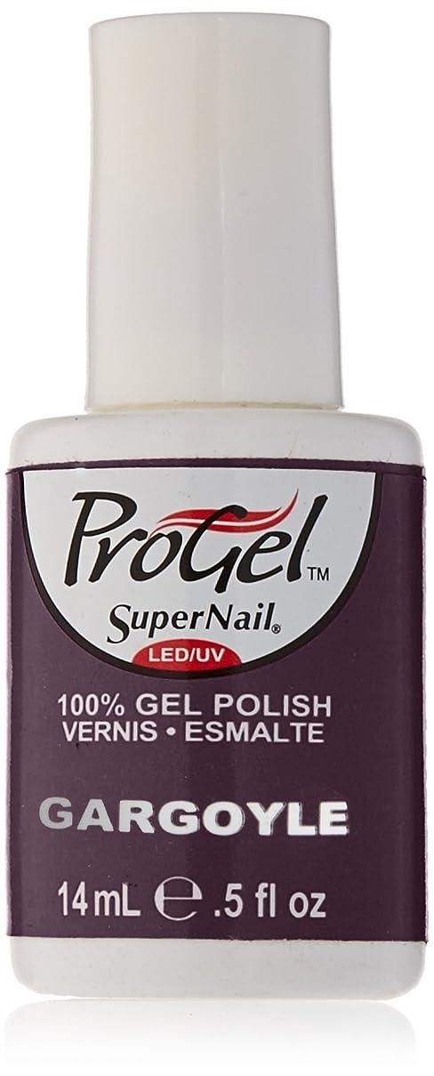 ブロンズパンツ幻影SuperNail ProGel Gel Polish - Gargoyle - 0.5oz/14ml
