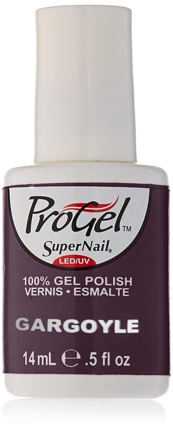 聖歌味付けシンジケートSuperNail ProGel Gel Polish - Gargoyle - 0.5oz/14ml
