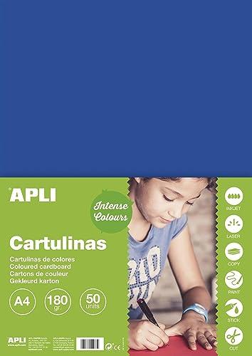 APLI 10 ück Schutzhüllen cartoline von Mosaiken 180 A4  blau dunkelgrau
