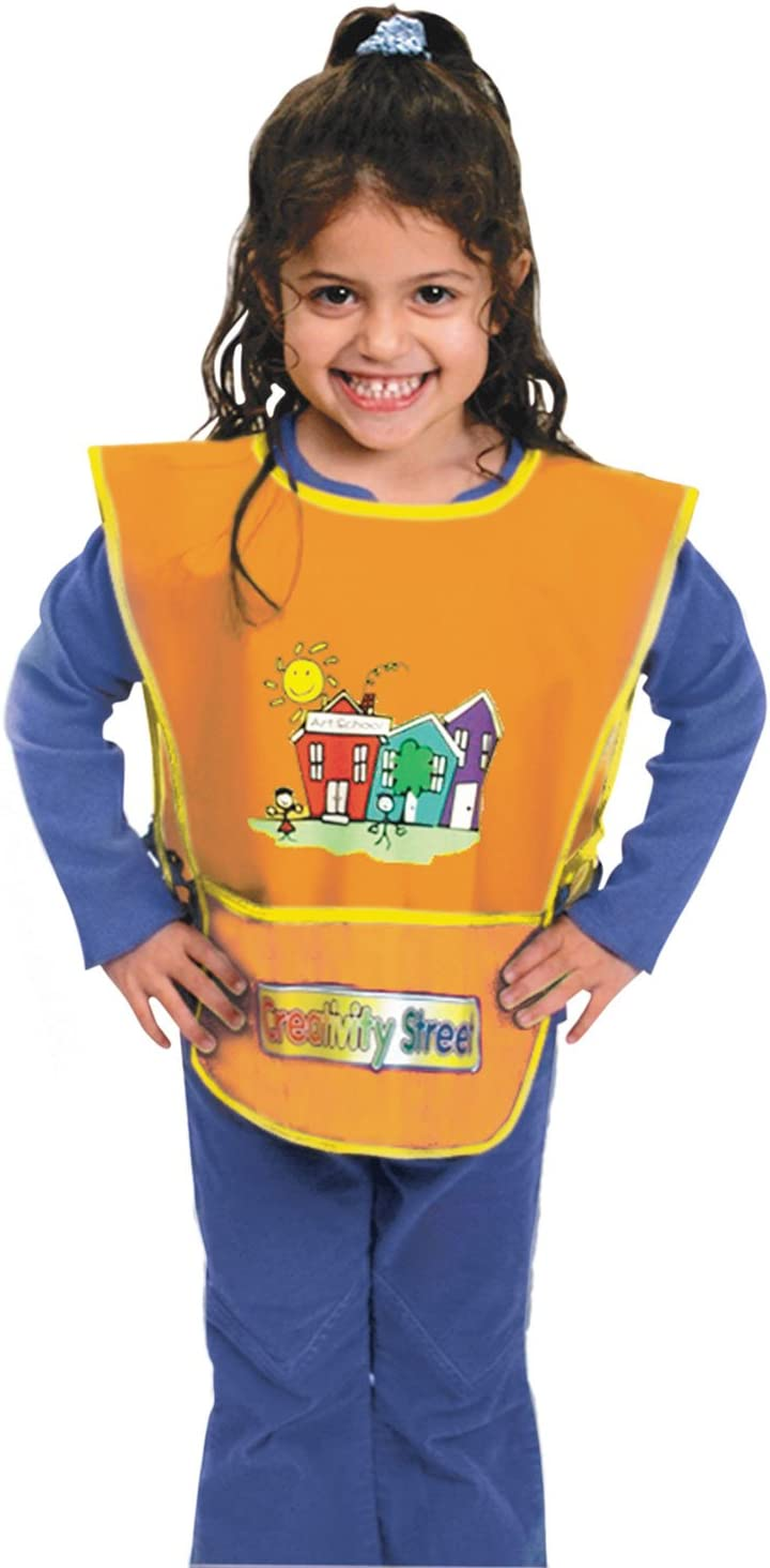 Kraft+Artist+Smock%2c+Fits+Kids+Ages+3-8%2c+Vinyl%2c+One+Size+Fi Fixed price for Bombing new work sale