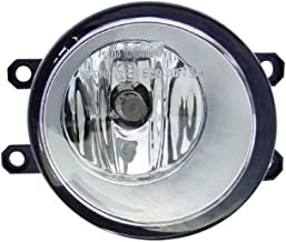 Fog Light - Cooling Direct Fit/For 07-11 Toyota Camry 07-08 Solara/Yaris 06-08 Rv4 09-12 Rv4-Jpn 08-13 Highlander Fl Assembly Right Hand Passenger Round-Type SC2593100; TO2593138 812100D042
