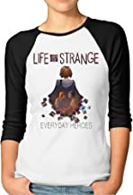 YUVIA Men's Geek Life Is Strange Raglan Shirt