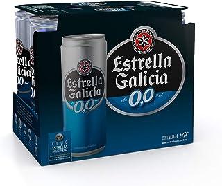 Estrella Galicia Cerveza sin Alcohol - Paquete de 6 x 330 ml