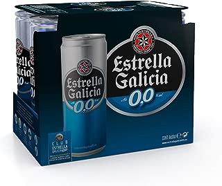 Estrella Galicia Cerveza sin Alcohol - Paquete de 6 x 330 ml - Total: 1980 ml