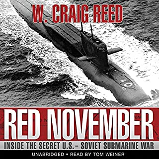 Red November audiobook cover art