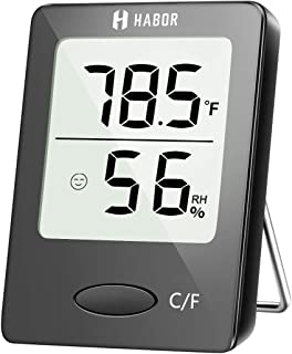 Habor Hygrometer Indoor Thermometer, Humidity Gauge Room Thermometer Indoor, Accurate..