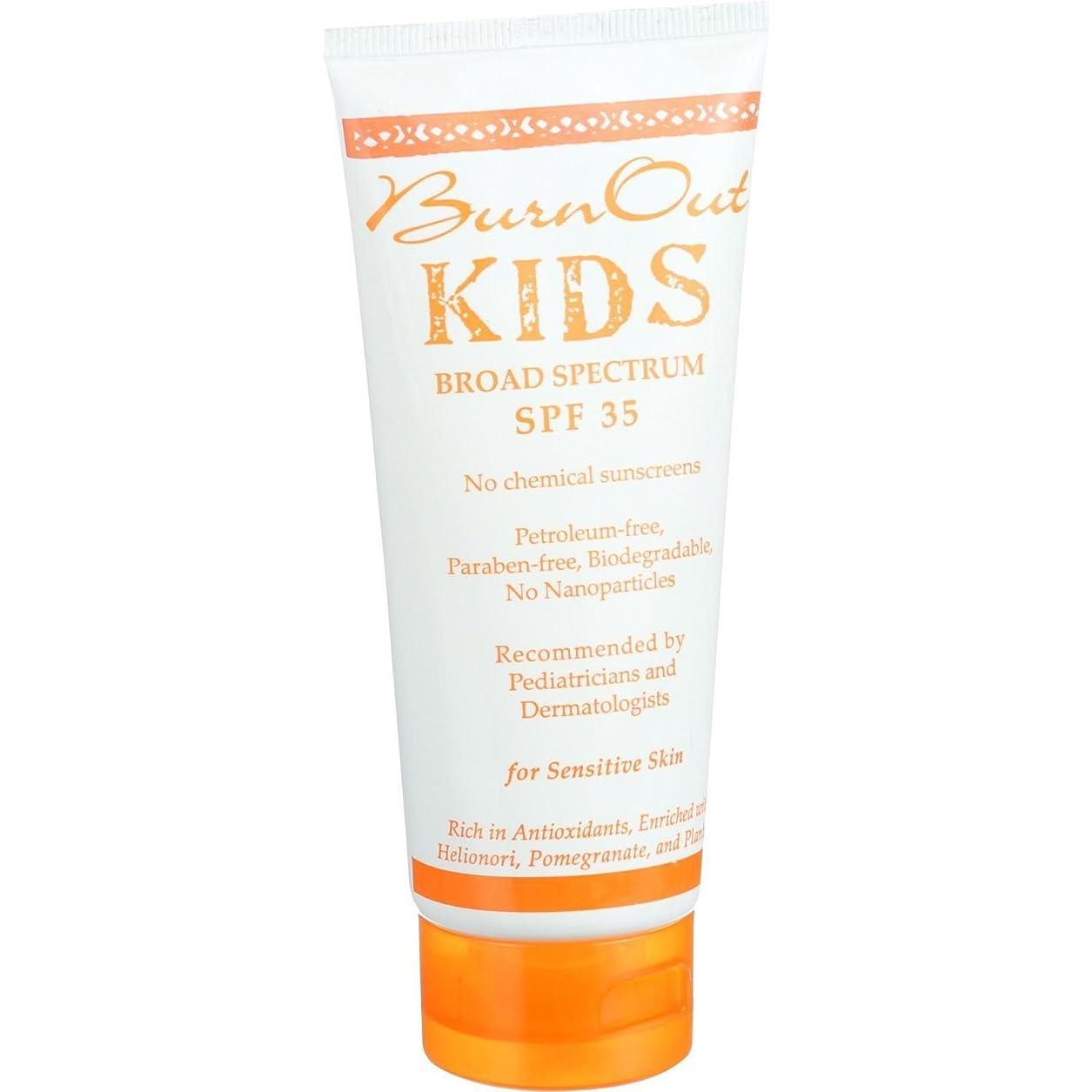 誰でも濃度プレフィックスBurn Out Physical Sunscreen - Kids - SPF 35 - 3.4 oz
