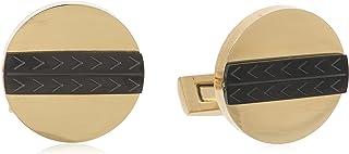 Diamond Moon Stainless Steel Cufflinks for Men, Stainless Steel - 1800541240408
