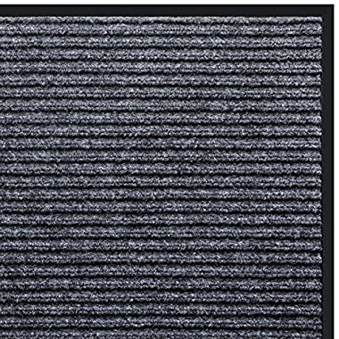 VDOMUS Door Mat Shoe Scrapper & Rubber Backing Doormat Indoor Outdoor Entry Way Rug, for High Traffic Areas
