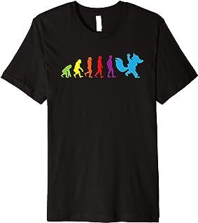 Furry Human Evolution tshirt Furries Tail Ears Cosplay Shirt Premium T-Shirt