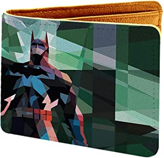 The Tag Kart Batman Design Multi Color Canvas, Artificial Leather Wallet(BSB3WABYYYT00003611)