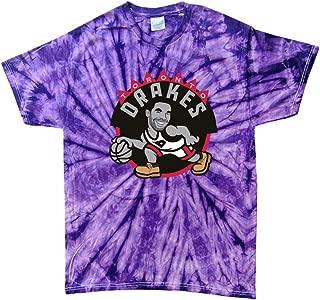 TIE-DYE Purple Toronto Drakes Old School Logo T-Shirt