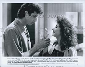 Historic Images - 1987 Press Photo Actors Elizabeth Pena and Jeff Goldblum in Comedy Film Vibes
