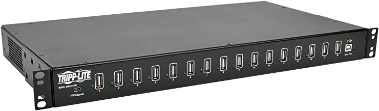 TRIPP LITE 16-Port USB Sync Charging Hub Station Tablet Smartphone iPad/iPhone Rackmount TAA (U280-016-RM)
