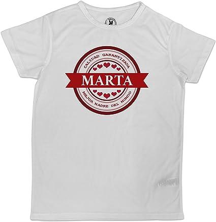 LolaPix Camiseta Madre Personalizada con Nombre. Regalo ...