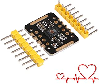 MakerFocus Heart-Rate Sensor Module, MAX30102 Blood Oxygen Sensor, Compatible with Arduino STM32