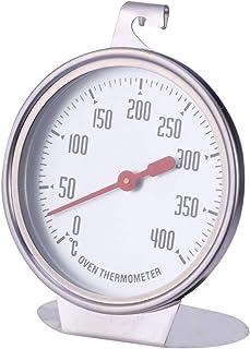 UPKOCH Termometro da Forno, Termometro per monitoraggio griglia/Fumatore, Ampio Display nitido Mostra Temperature marcate ...