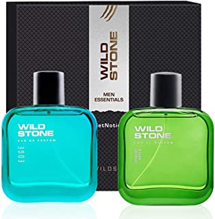 Wild Stone Gift Box with Forest Spice and Edge Perfume (50ml each)