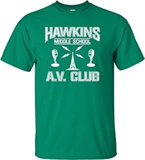 Go All Out Youth Hawkins Middle School AV Club T-Shirt