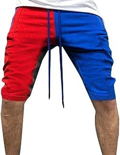 para Hombre ShinyAmber Pantal/ón Corto Deportivo