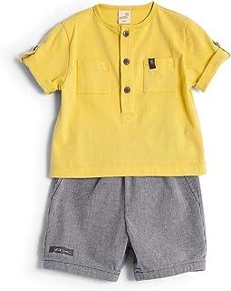 Conjunto Tons Amarelo - Bebê