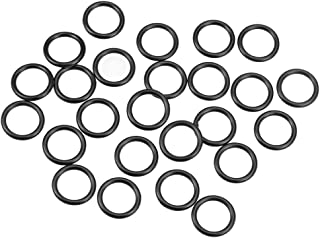 uxcell O-Rings Nitrile Rubber 14mm Inner Diameter 19mm OD 2.5mm Width Round Seal Gasket 25 Pcs