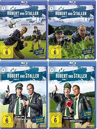 Hubert und Staller - Staffel 4-7 [Blu-ray]