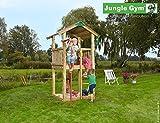 Spielturm Jungle Gym Castle Set mit Feuerwehrstange Sandkasten Kletterturm - Jungle Gym (inkl....