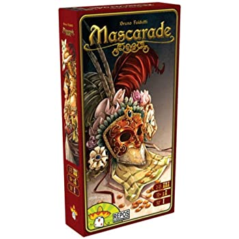 Repos Production- Mascarade - Español, Color (Asmodee MAS01ML ...
