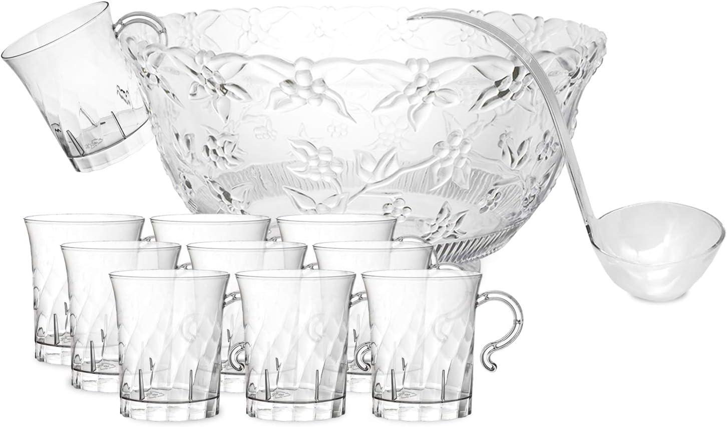Party Essentials Hard Plastic Max 61% New color OFF 8 Tea oz. Swirled Coffee Cu
