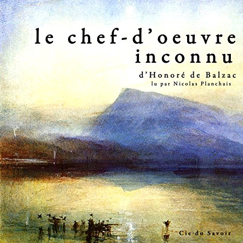 Le chef-d'œuvre inconnu audiobook cover art
