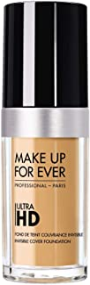 MAKE UP FOR EVER Y345 Ultra Hd Invisible Cover Foundation, 30 ml, Beige