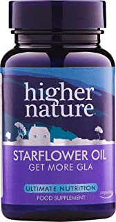 Higher Nature Starflower Oil 1000mg 30 capsules