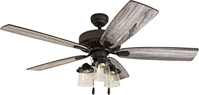 Prominence Home 51156-01 Lavante Ceiling Fan, 52, Bronze