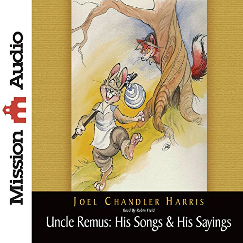 Uncle Remus audiobook cover art