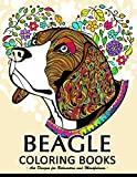 Beagle Dog coloring book for adults
