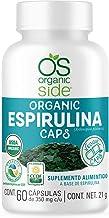 ESPIRULINA ORGÁNICO 60 CÁPSULAS - ORGANIC SIDE - USDA