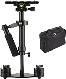 SUTEFOTO S40 Handheld Stabilizer Steadicam Pro Version for Camera Video DV DSLR Nikon Canon, Sony, Panasonic with Quick Re...