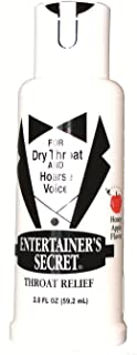 Entertainers Secret Throat Relief Spray (2-PACK)