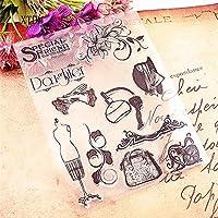 ホット販売テーブルランプクリアスタンプ/シリコーンシール花スタンプDIYスクラップブックアルバム/カードの生産